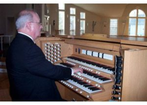 Richard Fowler, Music Director at St. Paul's Episcopal Church in Westbrook, CT