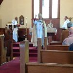 Bishop Ian Douglas preaching at St. Paul's Episcopal Church in Westbrook, CT